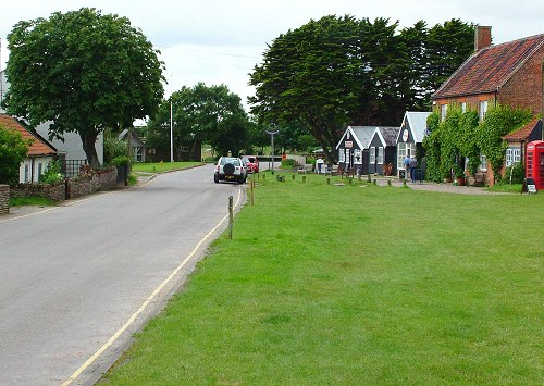 Part of Walberswick Village Green