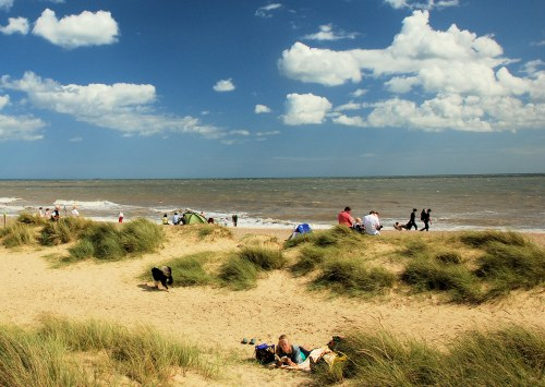 Walberswick Dunes and Beach